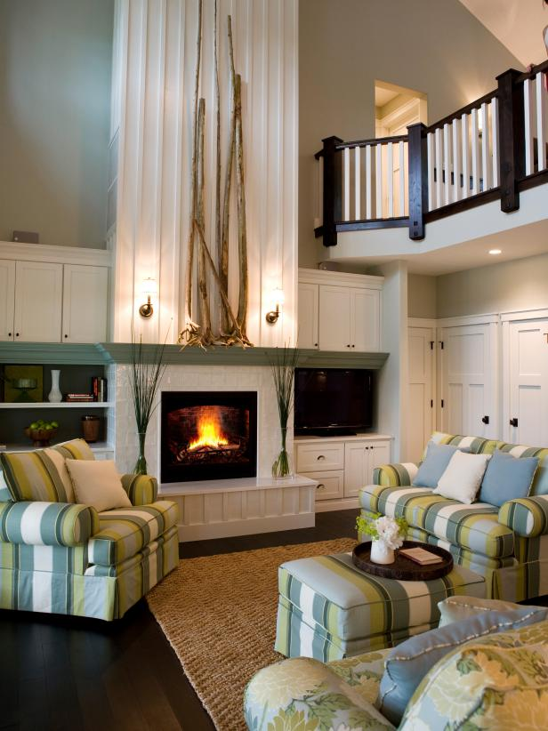 Coastal White Living Room