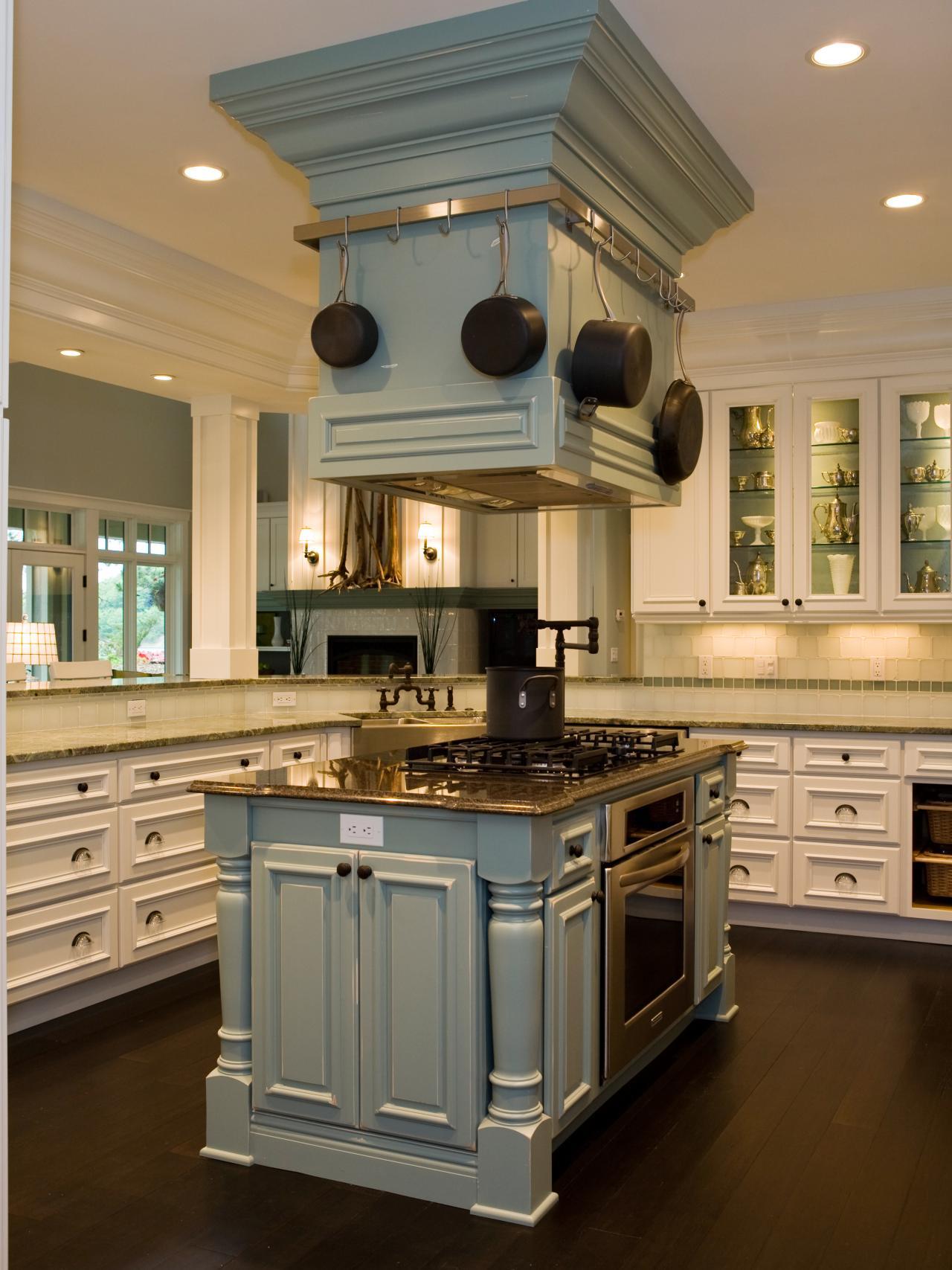 Kitchen Island Range Hood photo page | hgtv