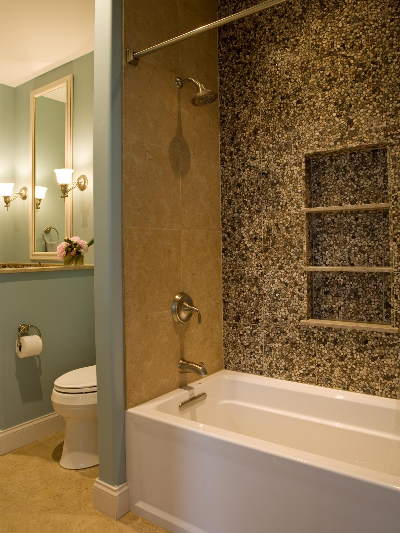 Photos hgtv for Tiled bathroom designs pictures