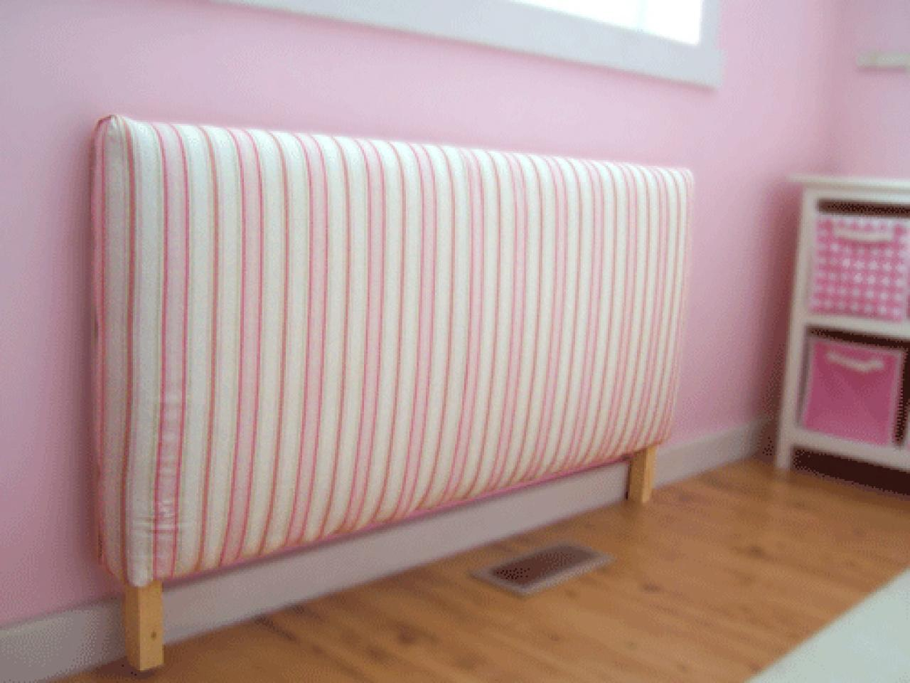 Diy upholstered toddler daybed hgtv for How to cover a bed