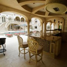 Lavish Poolside Terrace from HGTV's Million Dollar Rooms