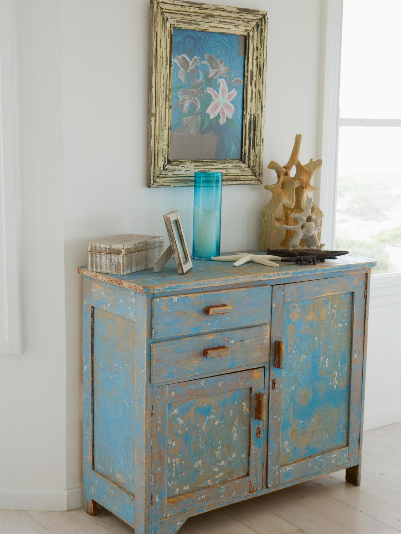 How To Paint Furniture How To Distress Furniture  Hgtv