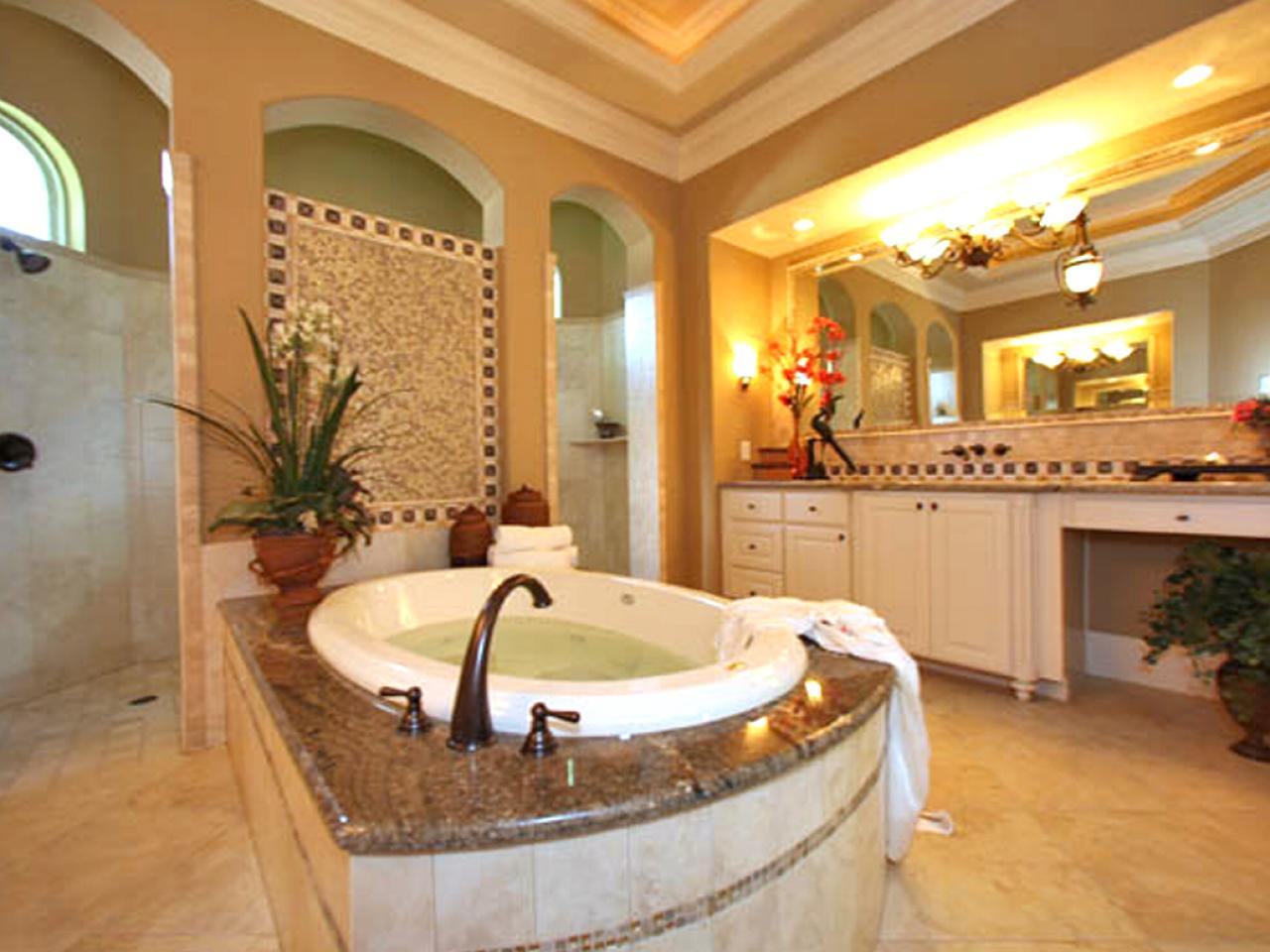 Photo page hgtv for Dream master bathroom