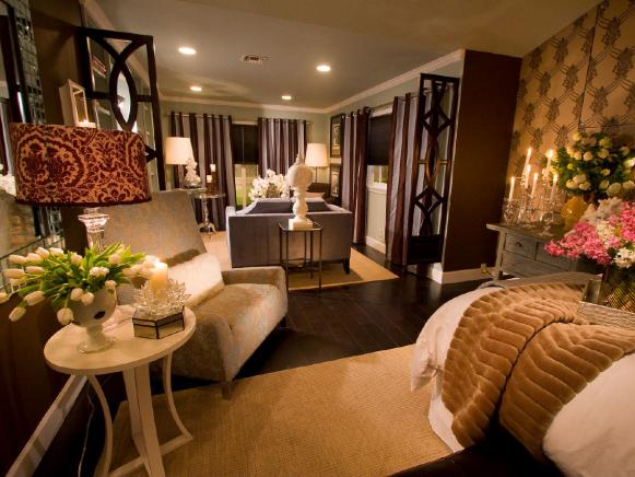 chic suite like bedroom sitting room - Bedroom Placement Ideas