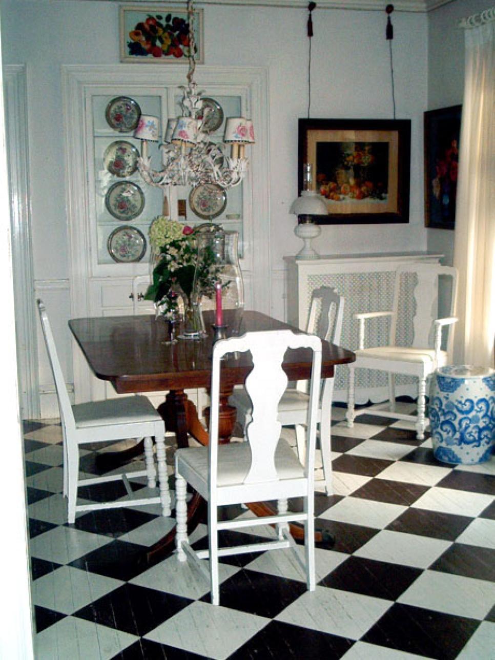 Pretty Painted Floors Hgtv