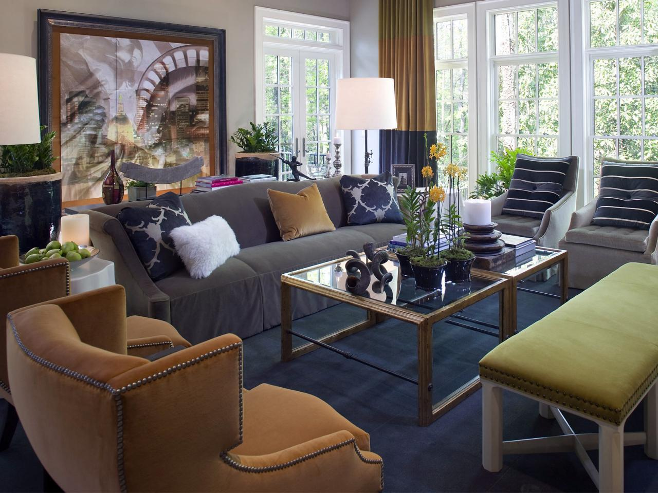 Living Room Design Tips From Candice Olson