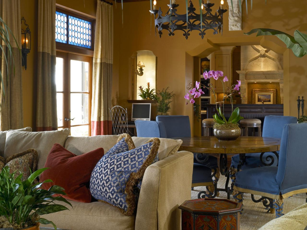 Photo page hgtv for Old style living room ideas