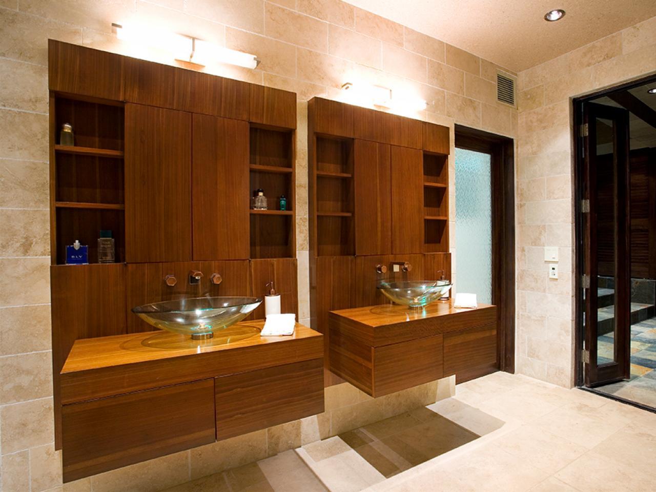 Small Bathroom Cabinets | HGTV