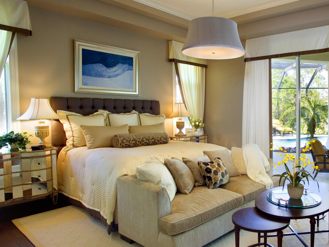 10 Warm Neutral Headboards Bedrooms Bedroom Decorating Ideas Hgtv