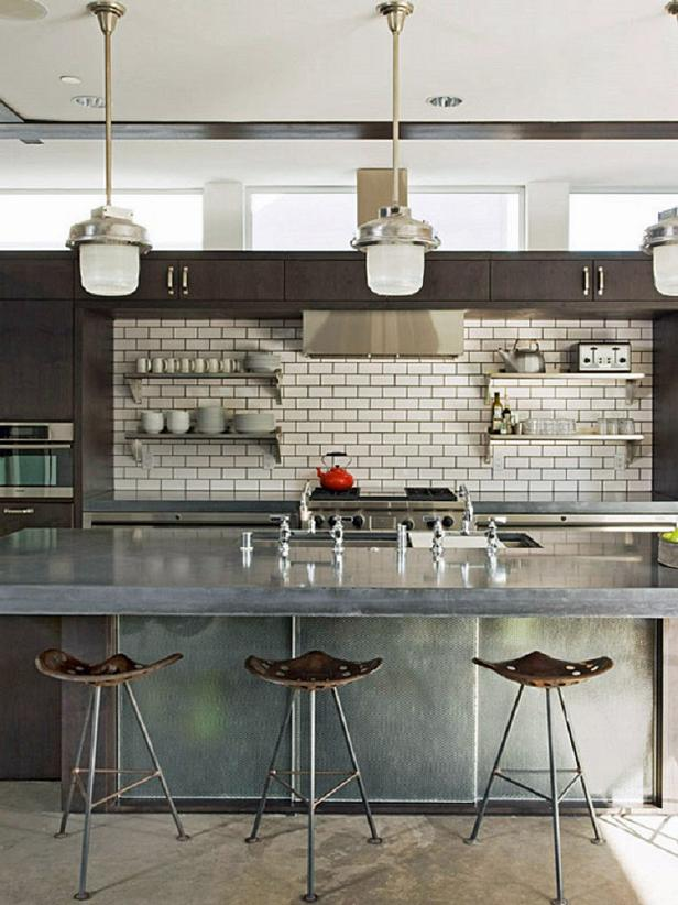 Subway Tile Adds Function And Design