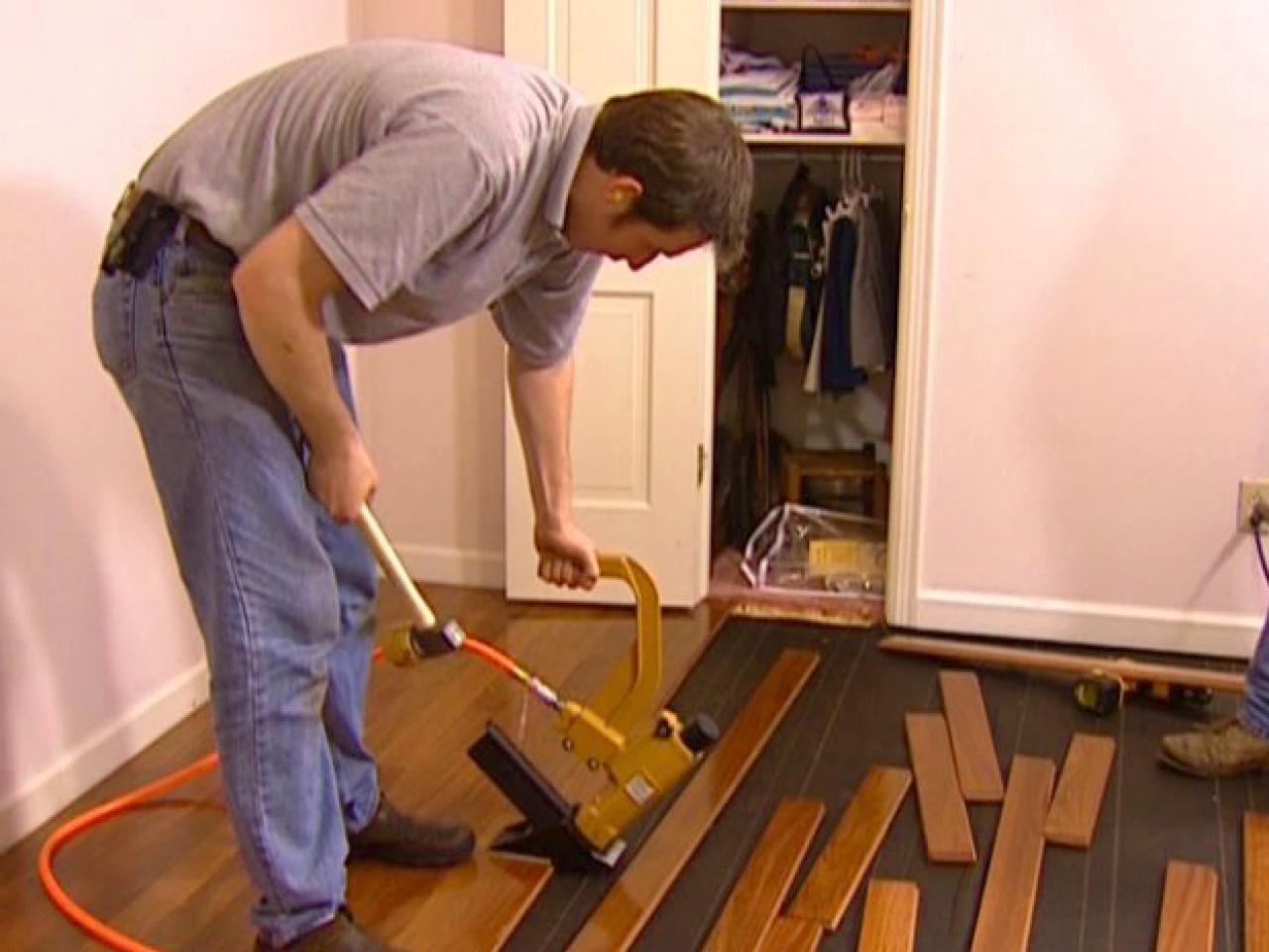 How to Install a Hardwood Floor | HGTV