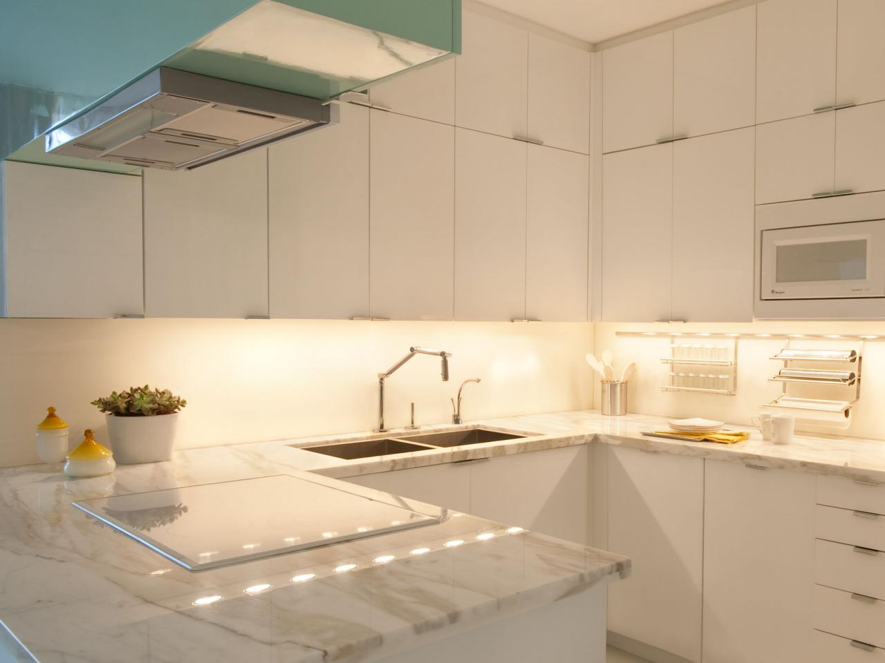 Under-Cabinet Kitchen Lighting: Pictures & Ideas From HGTV