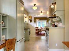 Small Galley Kitchen Storage Ideas small galley kitchen design: pictures & ideas from hgtv | hgtv