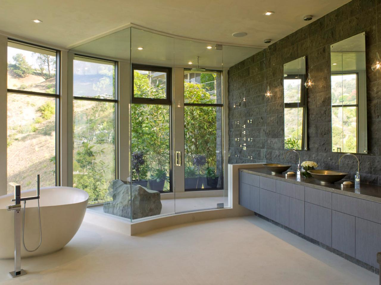 Bathroom Design Easy To Clean traditional bathroom designs: pictures & ideas from hgtv | hgtv