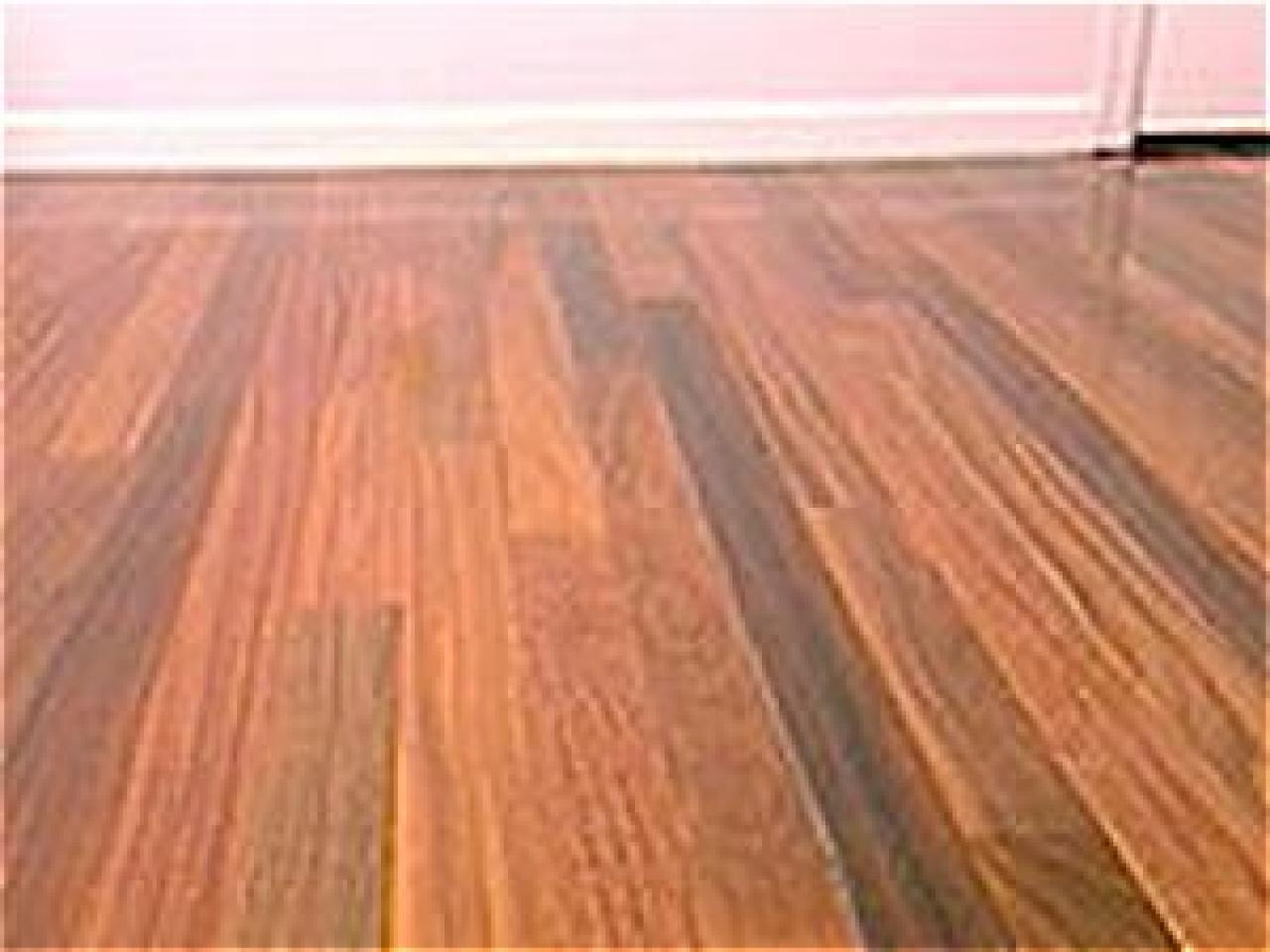 How to install a hardwood floor hgtv for Hard floor tiles