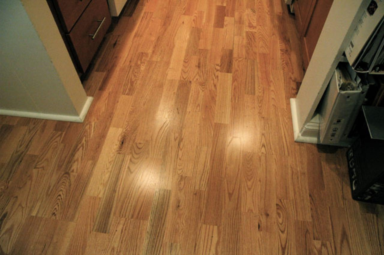 How to install hardwood flooring in a kitchen hgtv for Hardwood installation
