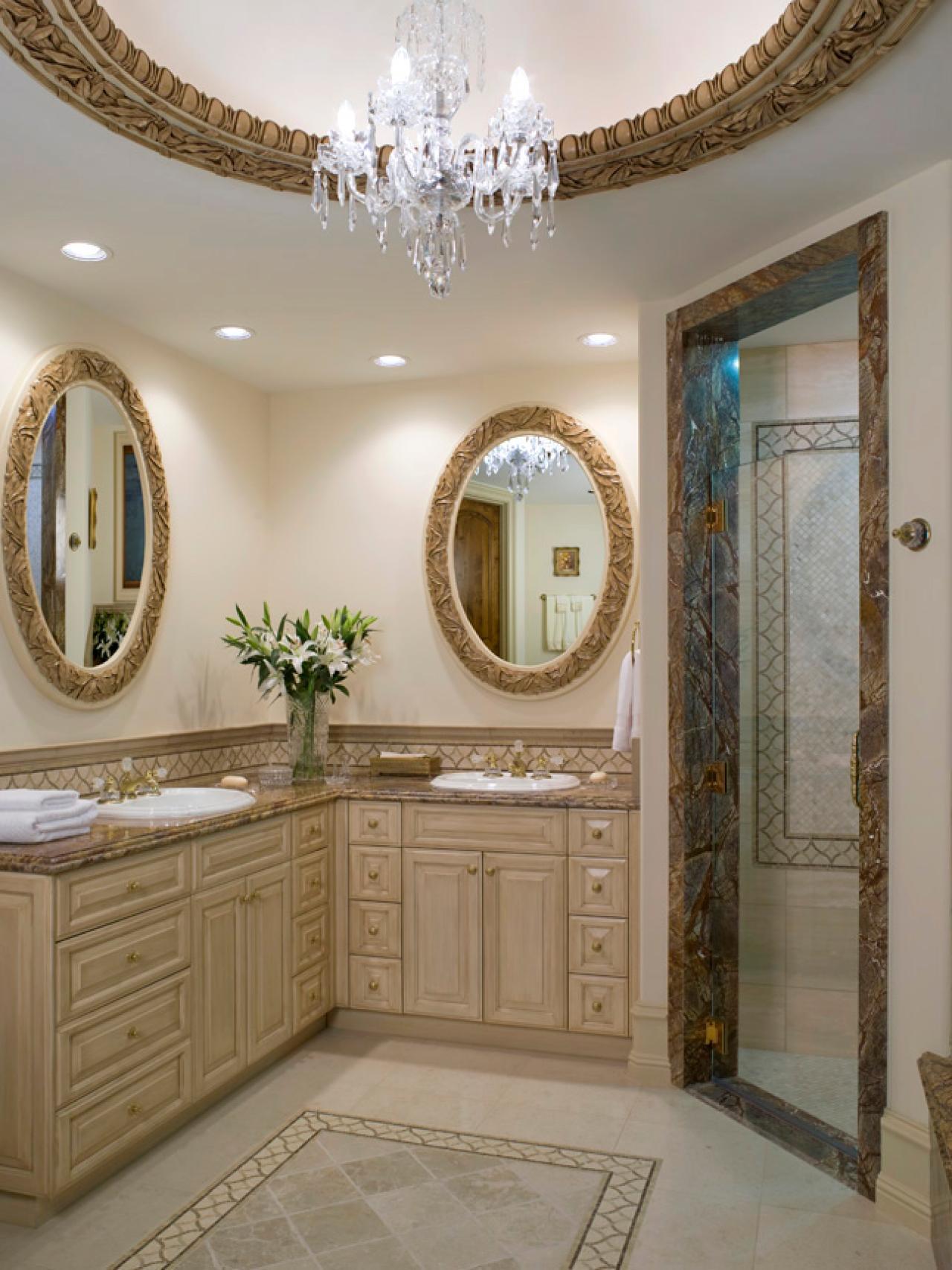 Mirrored bathroom vanity - Mirrored Bathroom Vanities