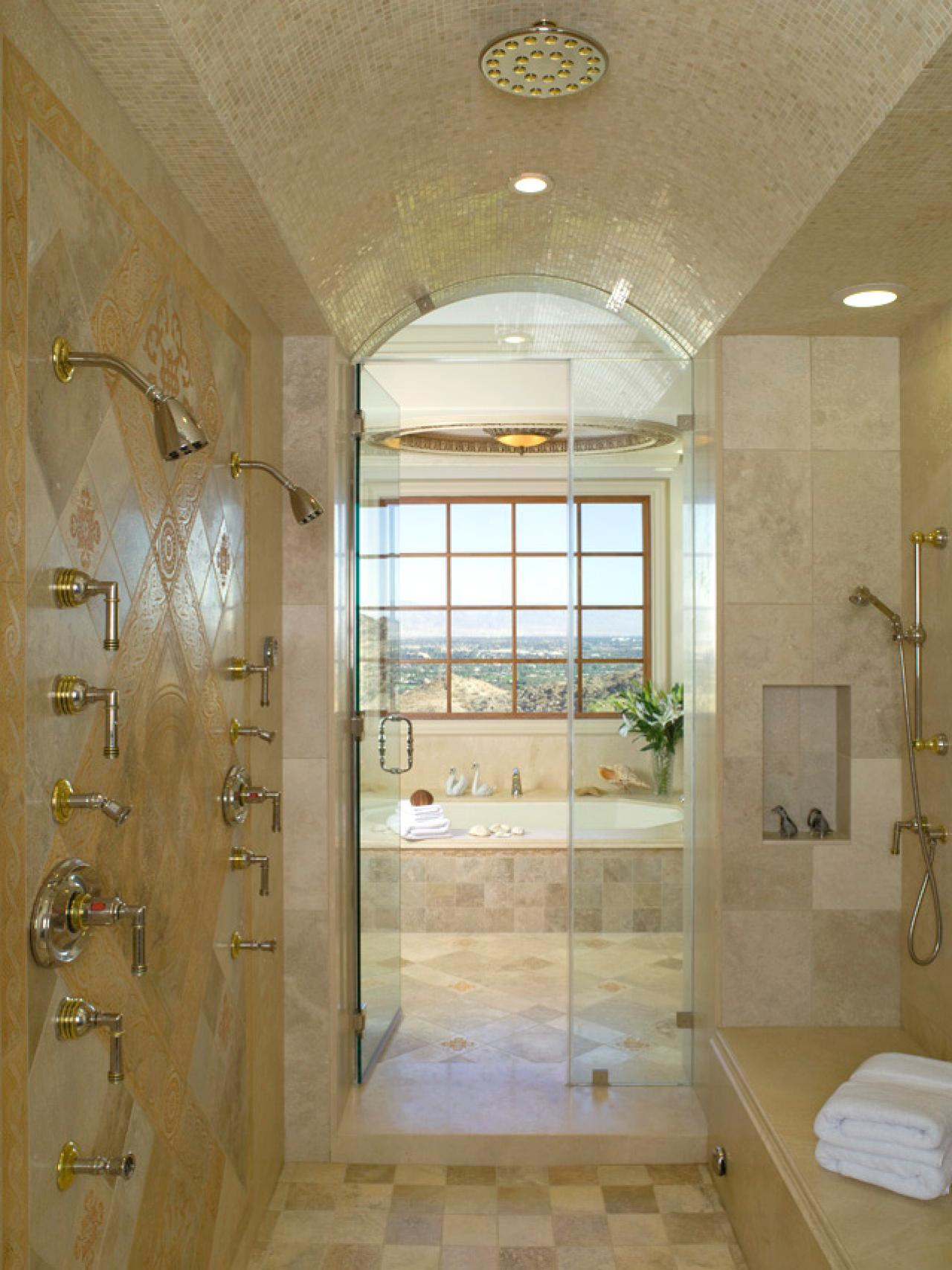 Shower enclosures hgtv for New bathroom ideas images