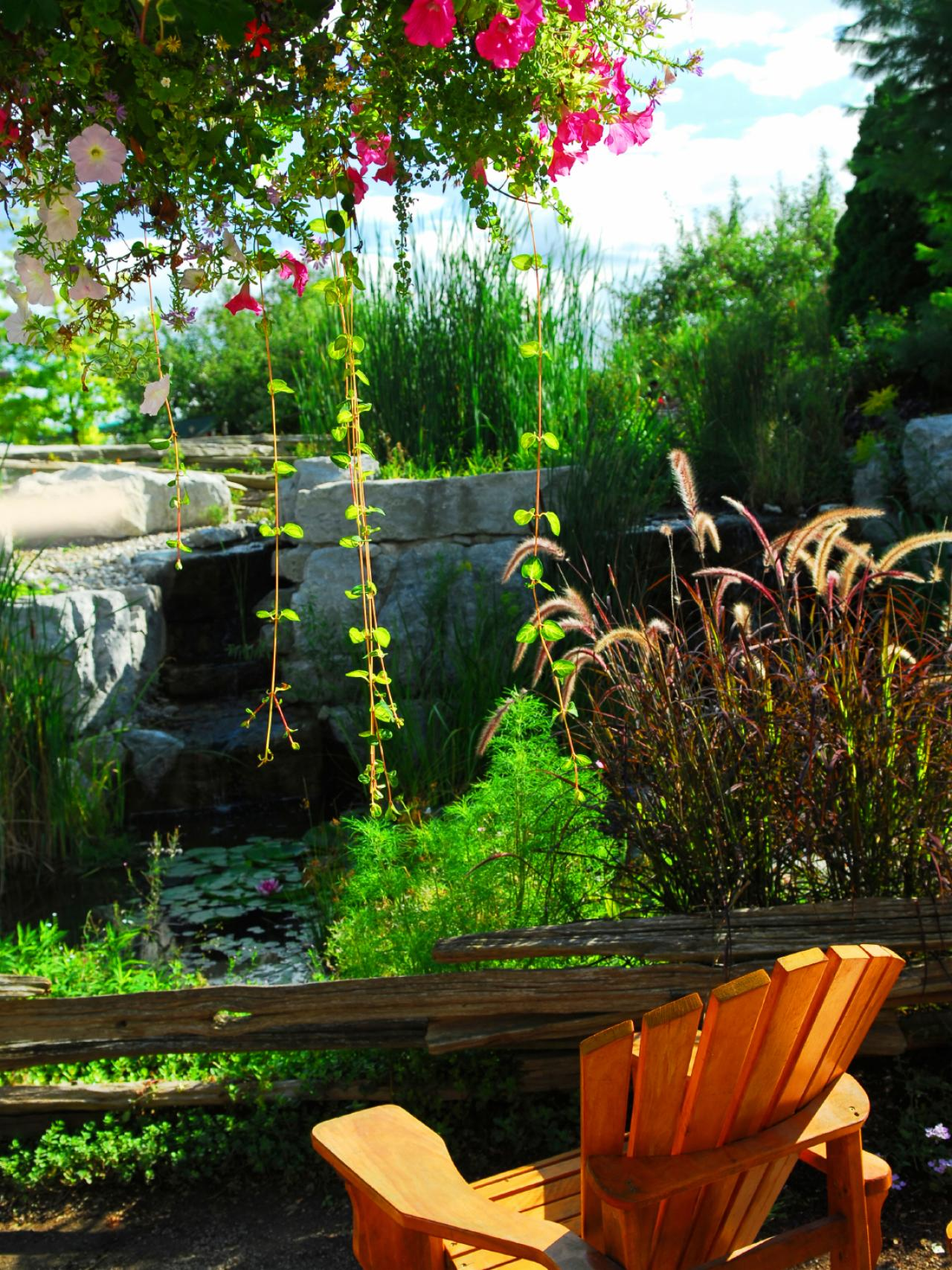 Planning your outdoor space hgtv for Plan your garden ideas