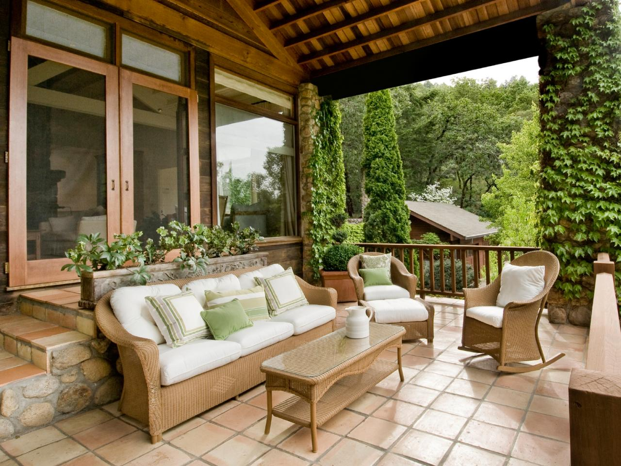 Design tips for the front porch hgtv for House porch design