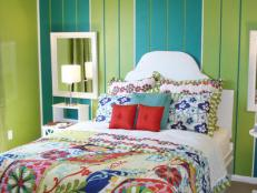 Bright Bohemian Teen Bedroom
