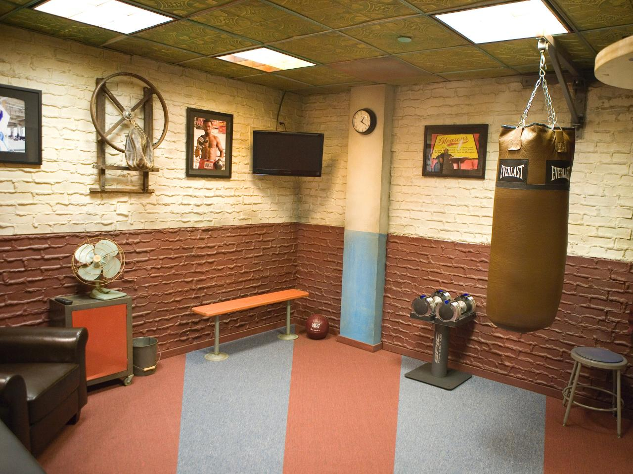 Antonio s knock out gym makeover decorating and design