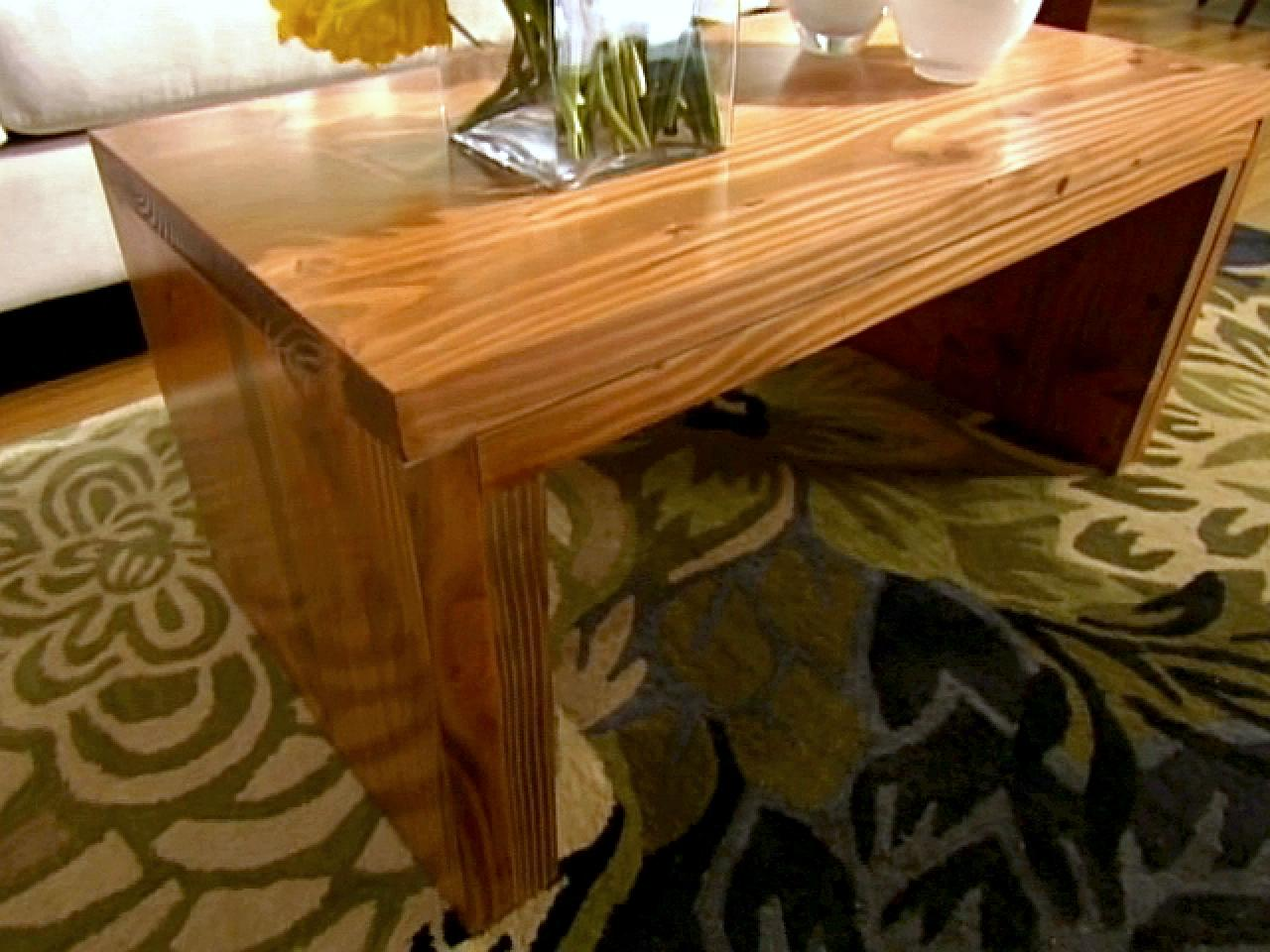 Build A Coffee Table Hgtv