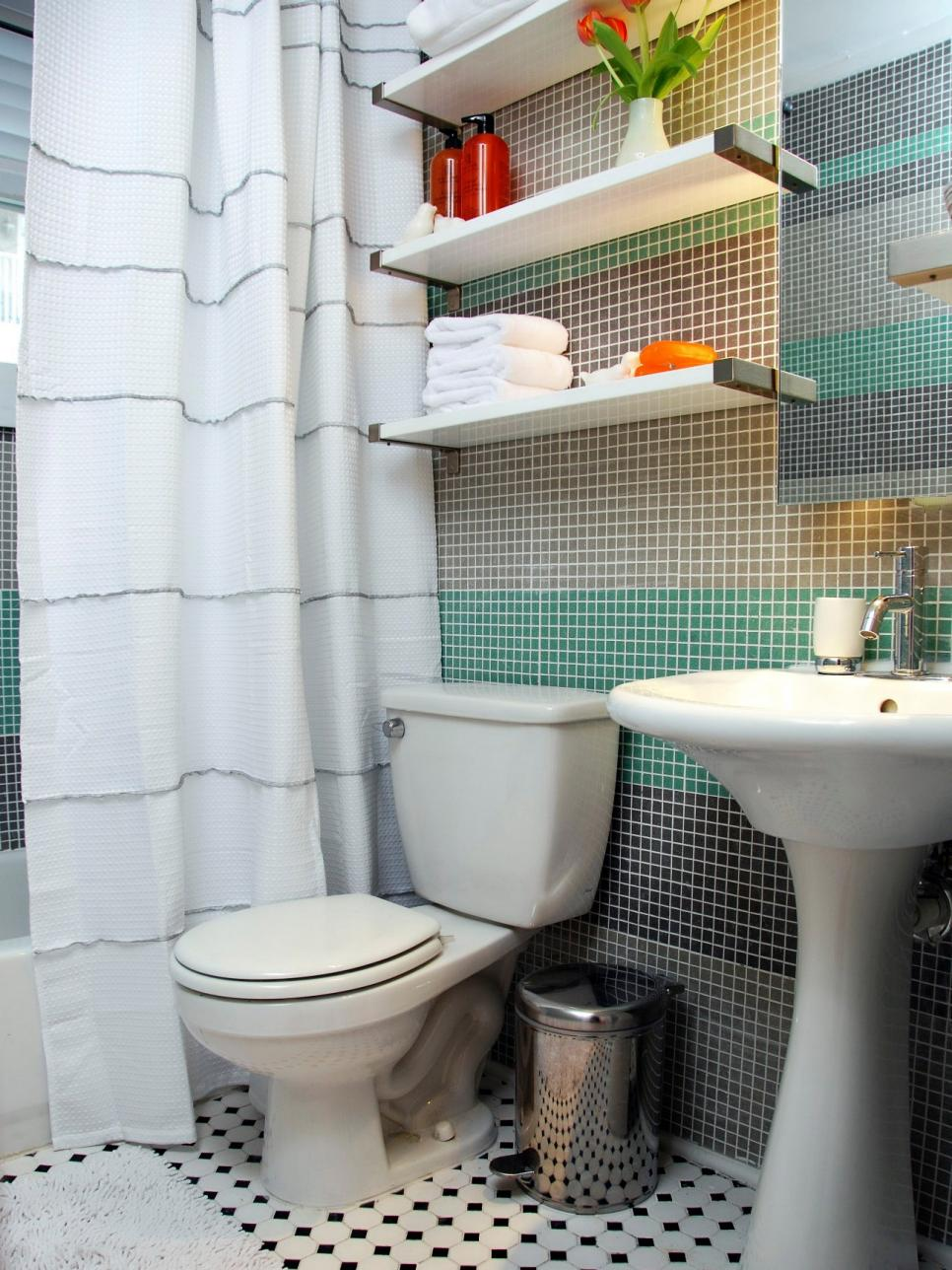 Cool teen bathrooms hgtv for Cool bathroom ideas