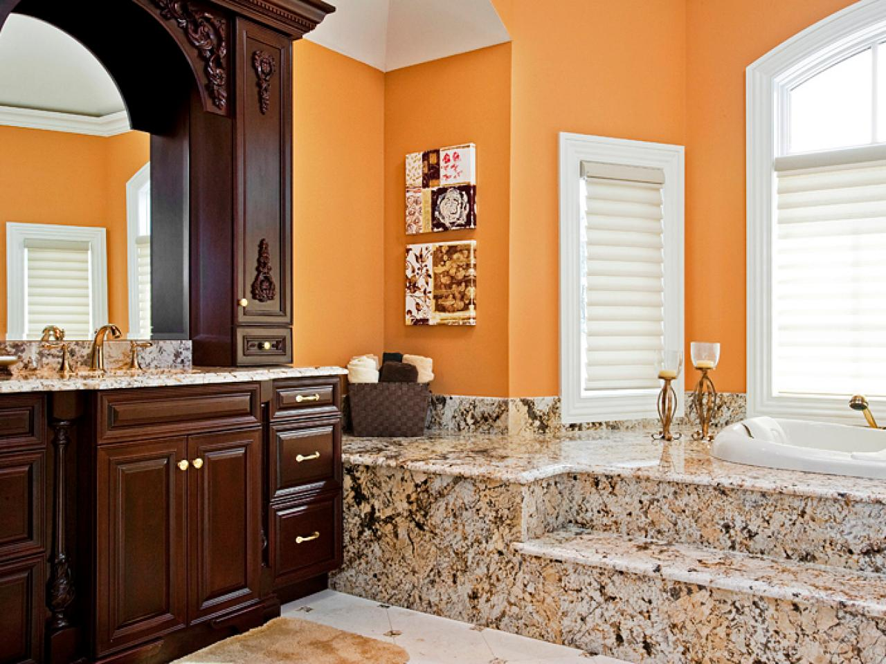 decorating with warm rich colors color palette and
