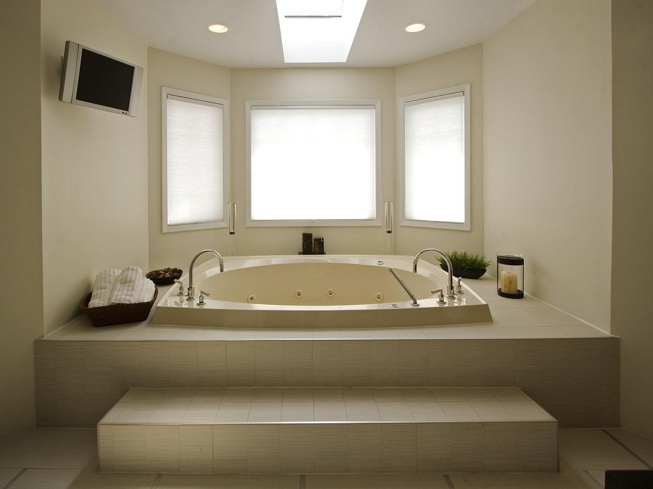 Designer Bathtub modern bathtub designs: pictures, ideas & tips from hgtv | hgtv