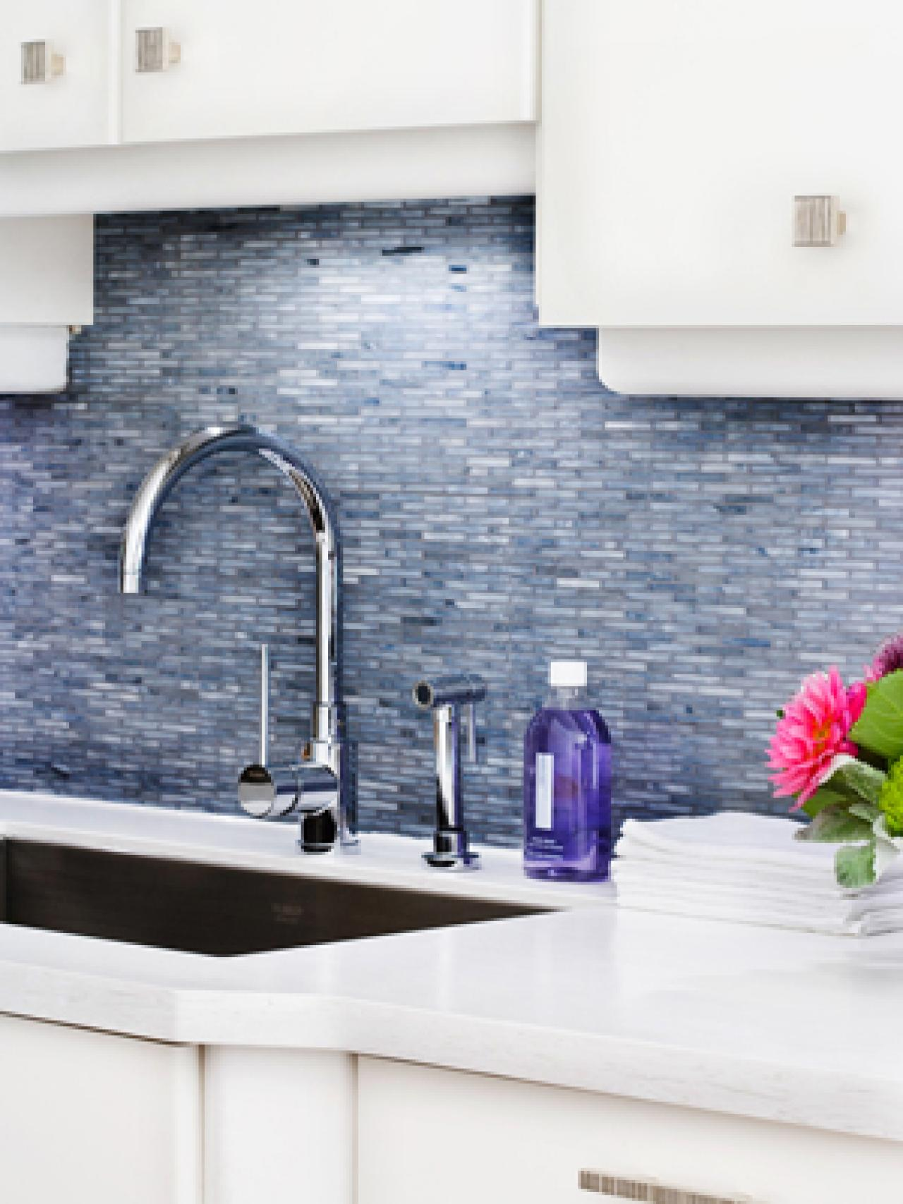 Kitchen Backsplash glass backsplash ideas: pictures & tips from hgtv | hgtv