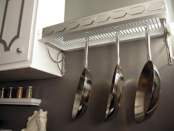 Pot Rack Under View