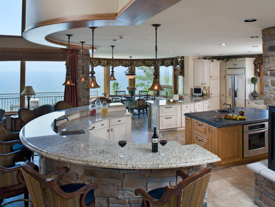 Unique Kitchen Island Mesmerizing 10 Kitchen Islands  Hgtv Inspiration