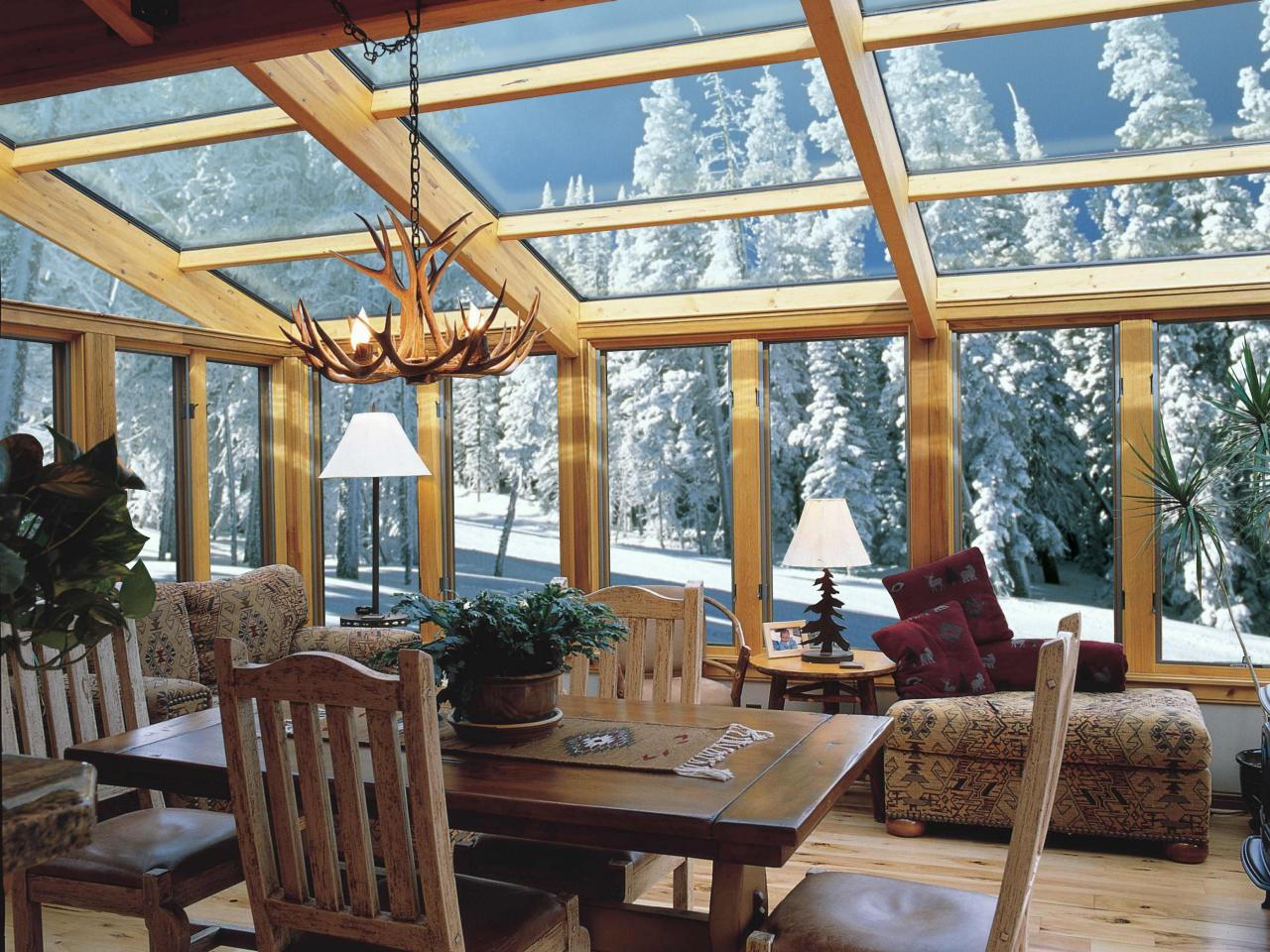 Sunrooms and conservatories decorating and design ideas for 4 season sunroom