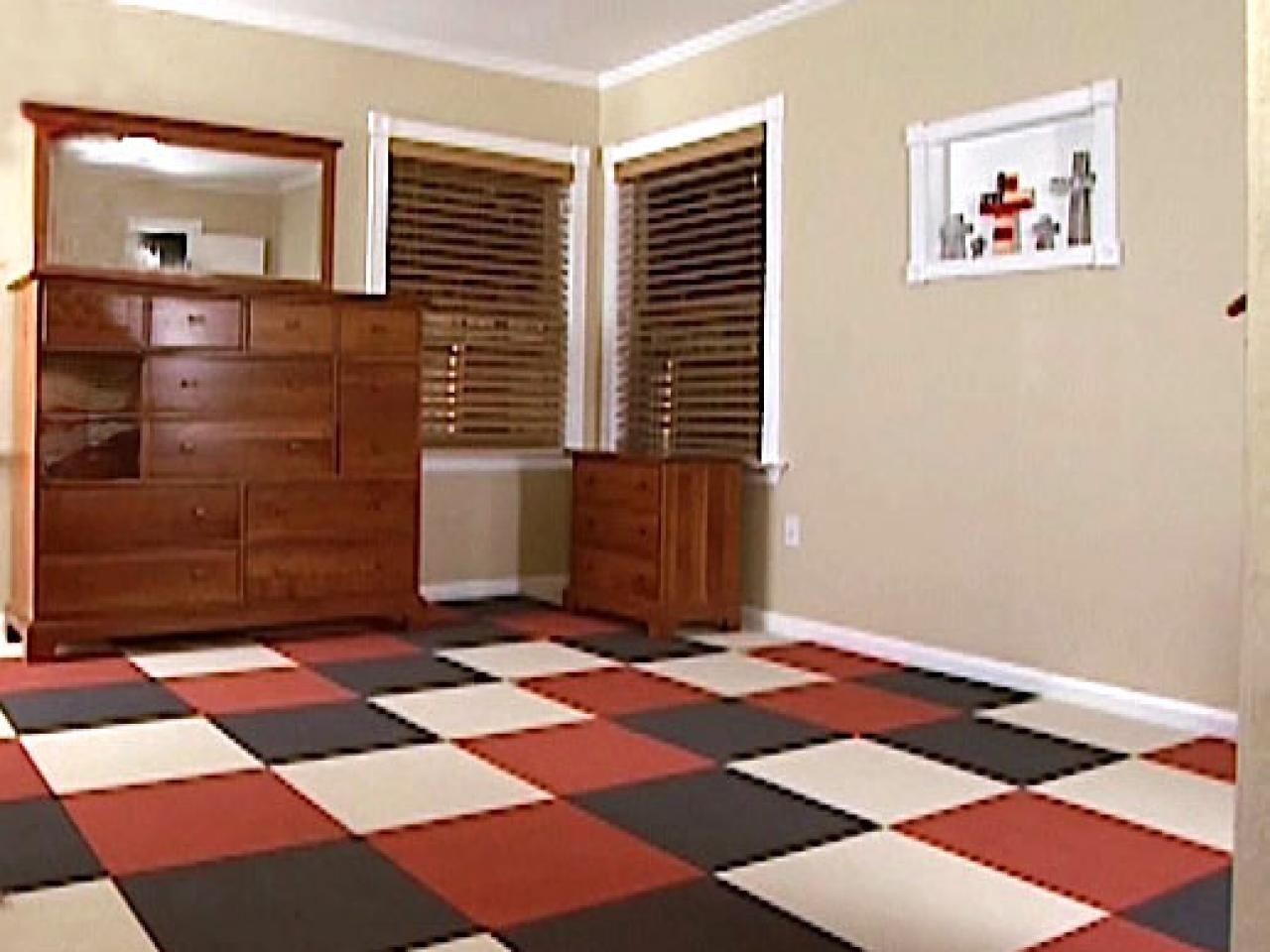 Carpet Tile Ideas how to install carpet tiles | hgtv