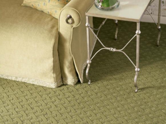 C02139 Embellished 2 Tuftex Green Carpet