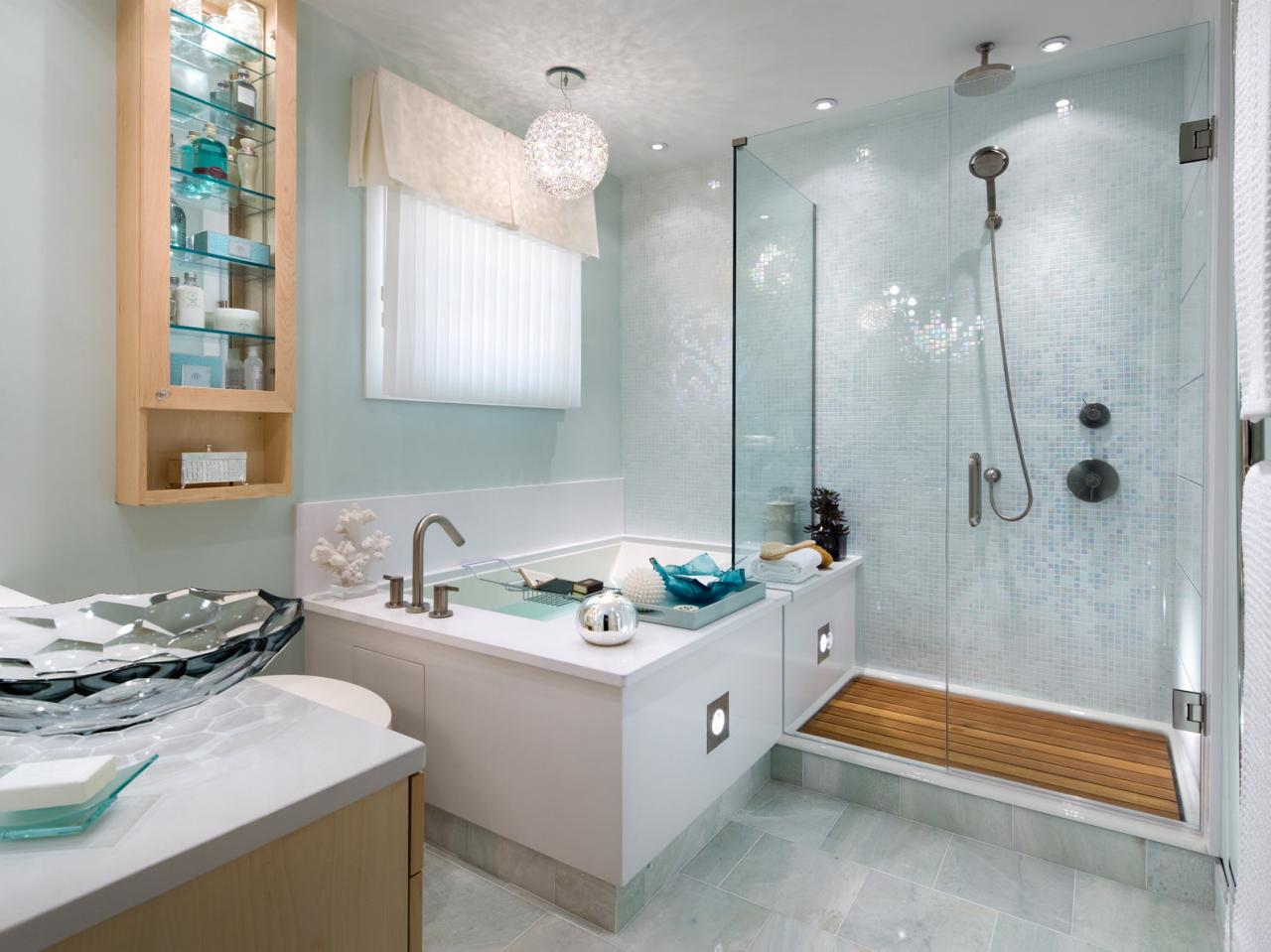 Corner Bathtub Design Ideas: Pictures & Tips From HGTV