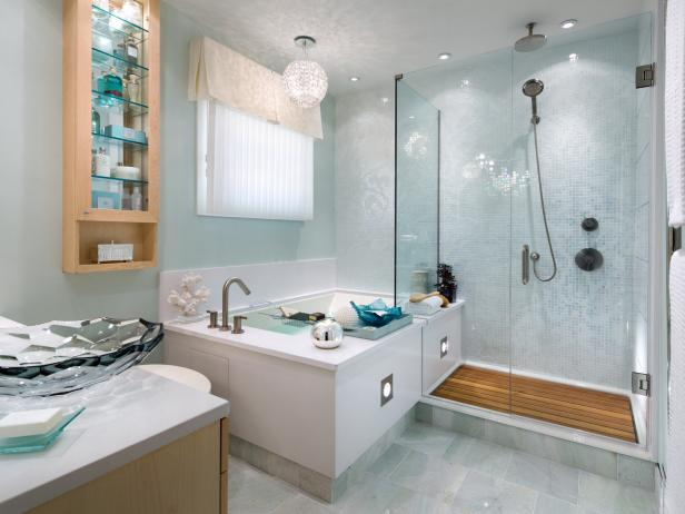Bathroom Design Ideas And Tips: Corner Bathtub Design Ideas: Pictures & Tips From HGTV