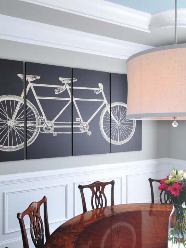 15 dining room decorating ideas hgtv - Interior Wall Decoration Ideas