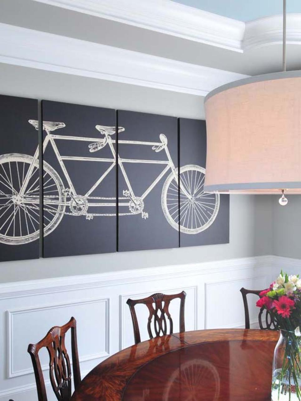 Wall Decor Dining Room 15 dining room decorating ideas | hgtv