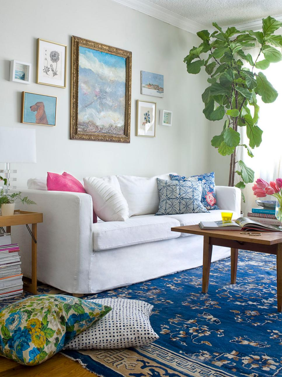 17 stylish boho chic designs hgtv Modern eclectic living room