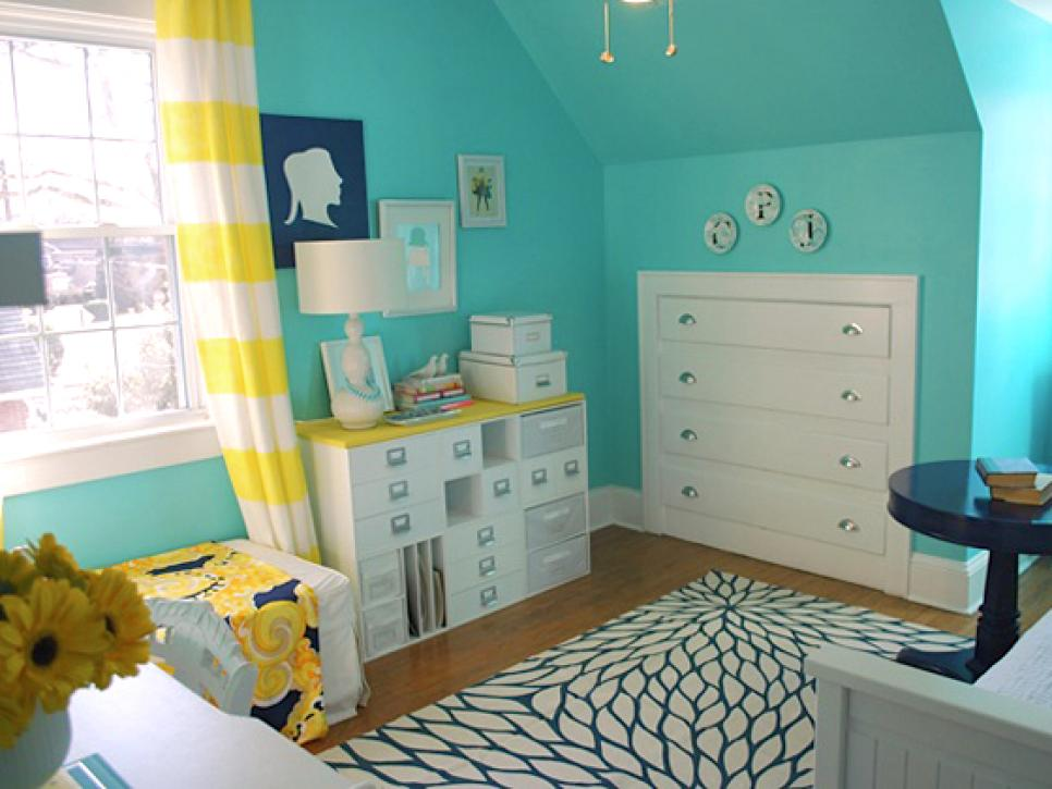9 tiny yet beautiful bedrooms hgtv Dresser designs for small space