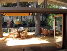 Party Ready Outdoor Space With Hardwood Deck Flooring
