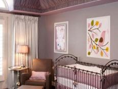 Soothing Purple Nursery