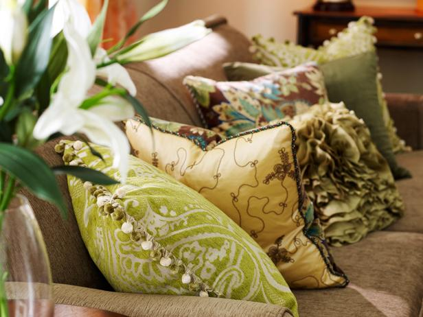 Pillows Decorative Throw And Accent Pillow Ideas HGTV