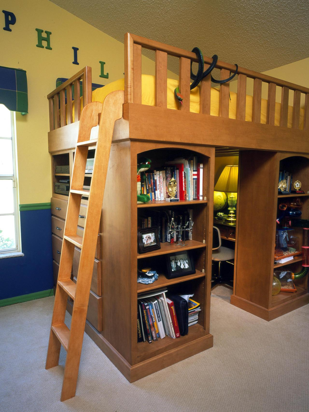 Storage Loft Bed Ideas 1280 x 1707