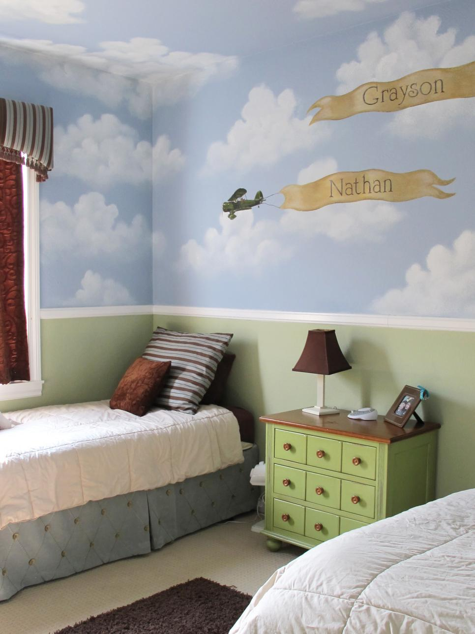 Shared kids 39 room design ideas hgtv for Kid room decor
