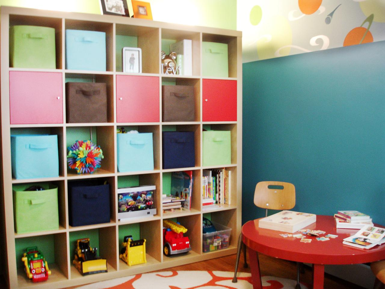 Kids 39 playroom design ideas kids room ideas for playroom for Storage for kids rooms