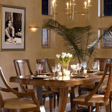 Art Deco Dining Room Photos   HGTV