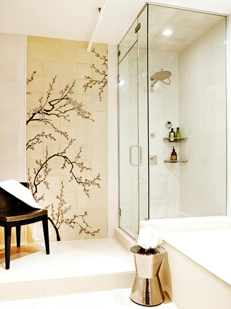 12 designer bathrooms for less hgtv for Bathroom designs hgtv